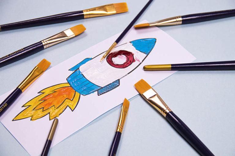 7-Pinceles_productos para arte y manualidades_Merletto