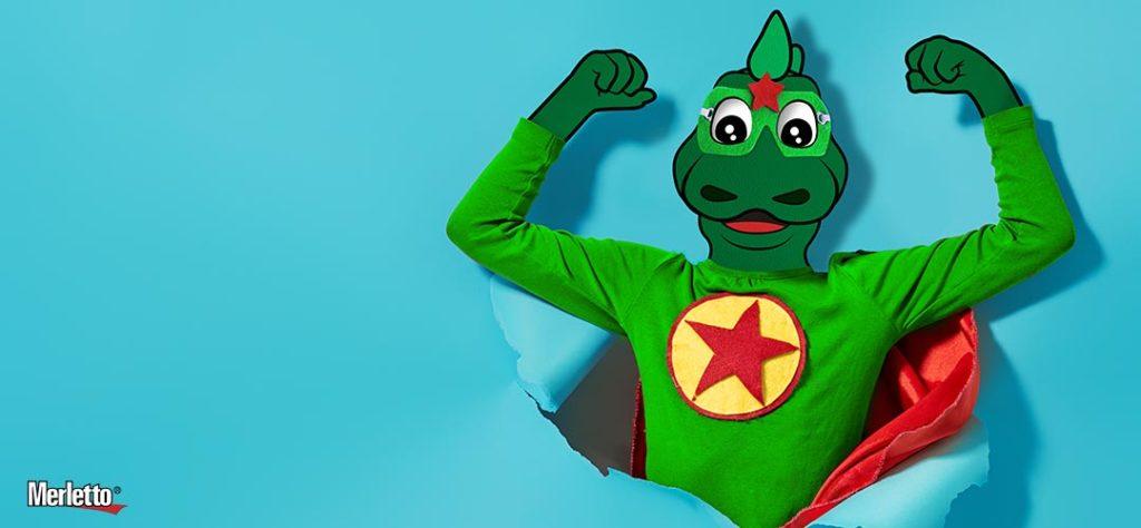Merlettin quiere ser un Superhéroe